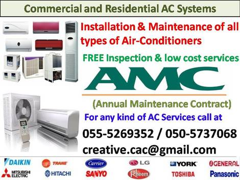 Creative Air Conditioning Maintenance & Ducting HVAC Works