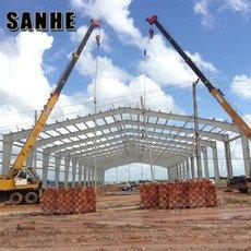 SANHE China Customize free design light Prefabricated Warehouse Hangar